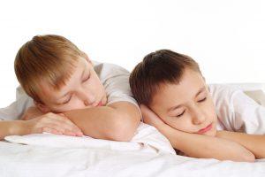 child sleep on stomach
